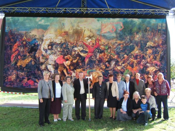 World's largest cross-stitch