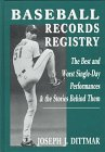 Baseball Records Registry