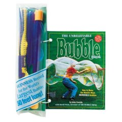 The Unbelievable Bubble Book, with bubble-making                 equipment