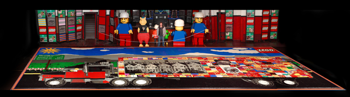 world record LEGO image
